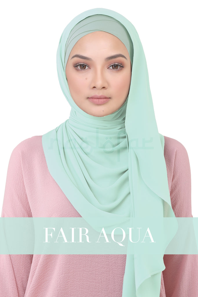BE LOFA INSTANT KOREAN CHIFFON - FAIR AQUA