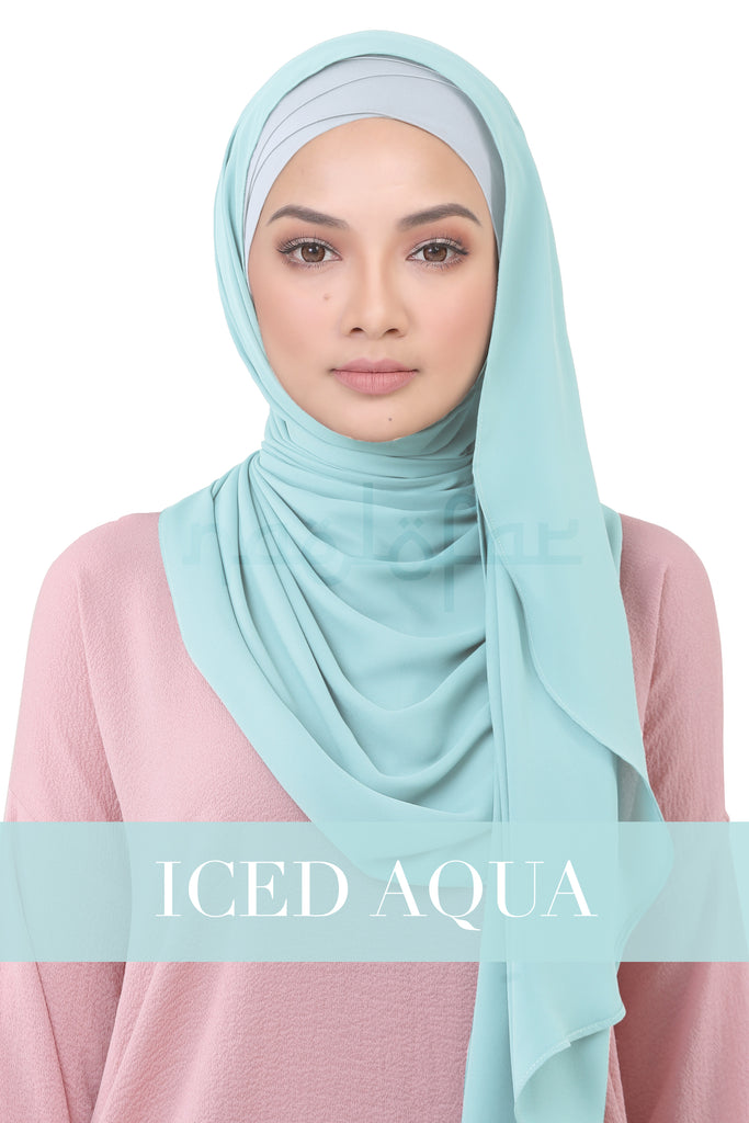 BE LOFA INSTANT KOREAN CHIFFON - ICED AQUA
