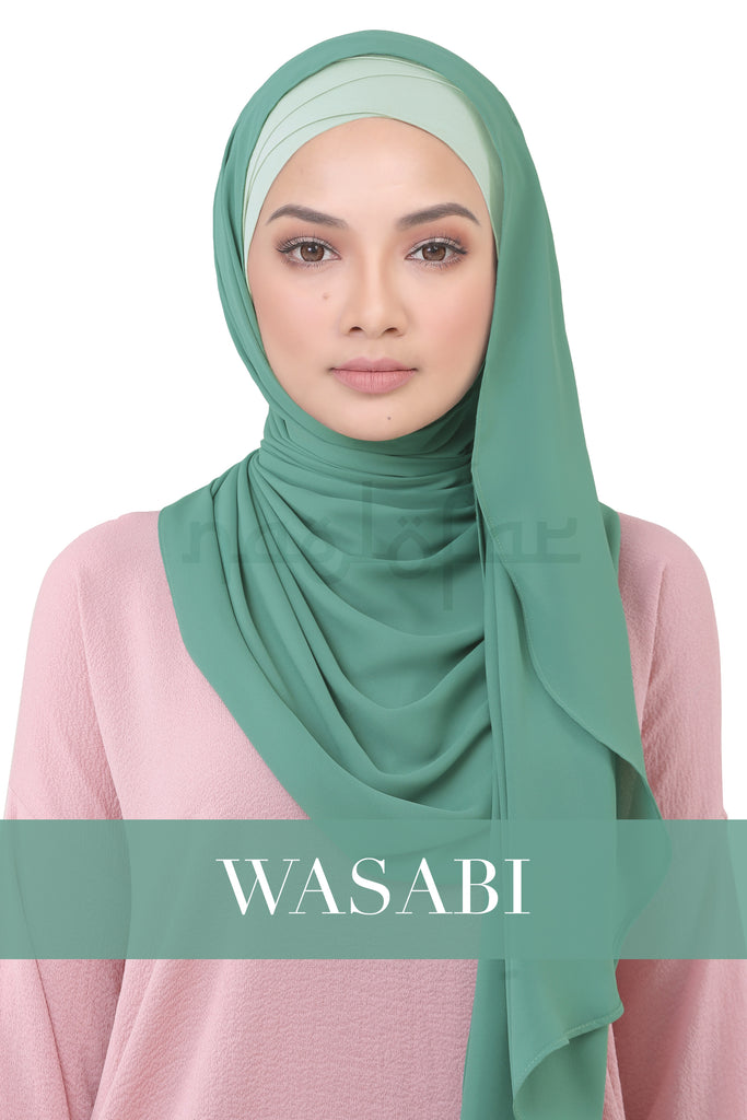 BE LOFA INSTANT KOREAN CHIFFON - WASABI