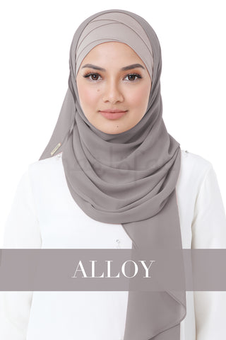 BE LOFA INSTANT HEAVY CHIFFON - ALLOY
