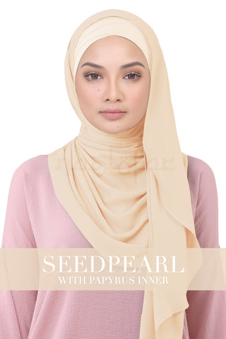 BE LOFA INSTANT KOREAN CHIFFON - SEEDPEARL WITH PAPYRUS INNER