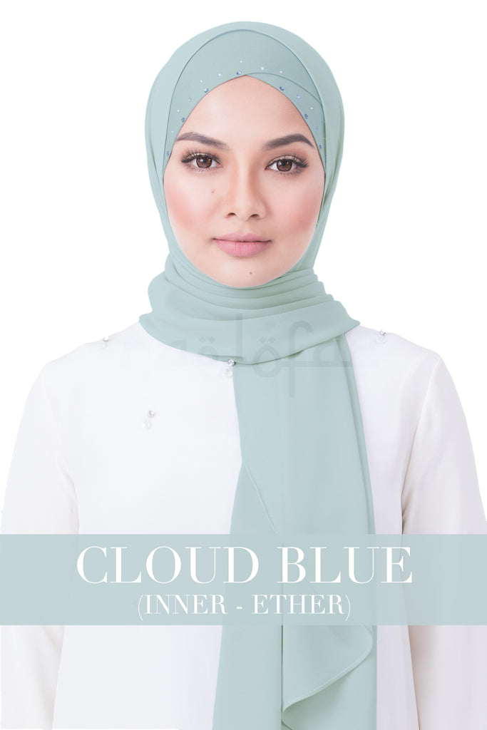 BE LOFA INSTANT RAYA SWAROVSKI - CLOUD BLUE WITH ETHER INNER