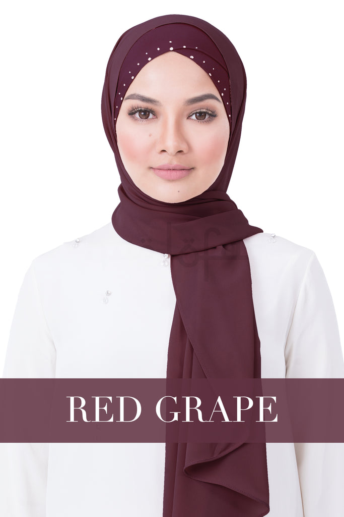 BE LOFA INSTANT RAYA SWAROVSKI - RED GRAPE