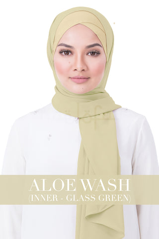BE LOFA INSTANT RAYA PLAIN - ALOE WASH WITH GLASS GREEN INNER