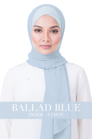 BE LOFA INSTANT RAYA PLAIN - BALLAD BLUE