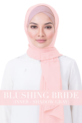 BE LOFA INSTANT RAYA PLAIN - BLUSHING BRIDE WITH SHADOW GRAY INNER