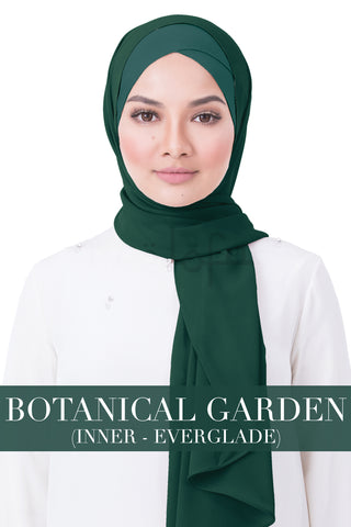 BE LOFA INSTANT RAYA PLAIN - BOTANICAL GARDEN WITH EVERGLADE INNER