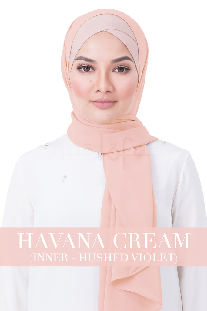 BE LOFA INSTANT RAYA PLAIN - HAVANA CREAM WITH HUSHED VIOLET INNER