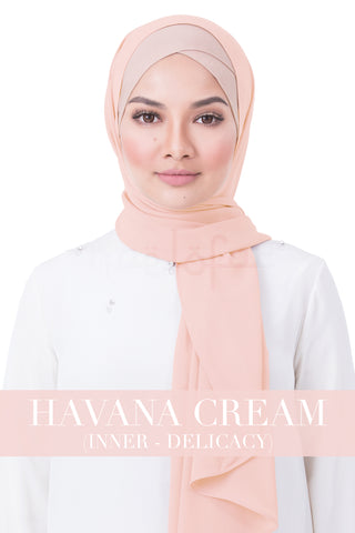 BE LOFA INSTANT RAYA PLAIN - HAVANA CREAM WITH DELICACY INNER