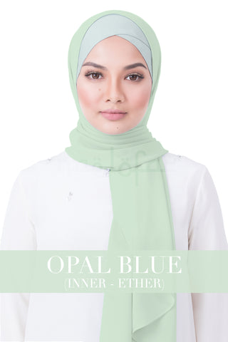 BE LOFA INSTANT RAYA PLAIN - OPAL BLUE WITH ETHER INNER