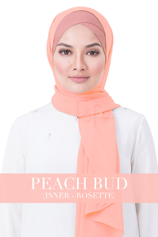 BE LOFA INSTANT RAYA PLAIN - PEACH BUD WITH ROSETTE INNER