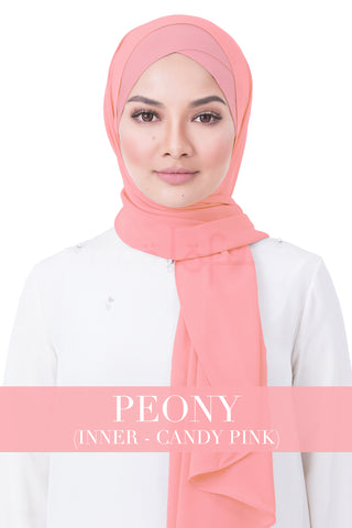 BE LOFA INSTANT RAYA PLAIN - PEONY WITH CANDY PINK INNER