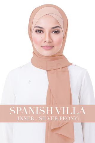 BE LOFA INSTANT RAYA PLAIN - SPANISH VILLA WITH SILVER PEONY