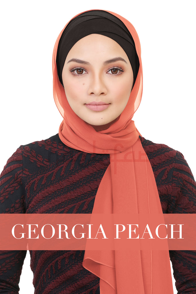 BE LOFA SHAWL - GEORGIA PEACH