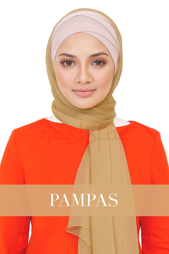 BE LOFA SHAWL - PAMPAS