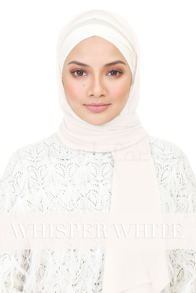 BE LOFA SHAWL - WHISPER WHITE