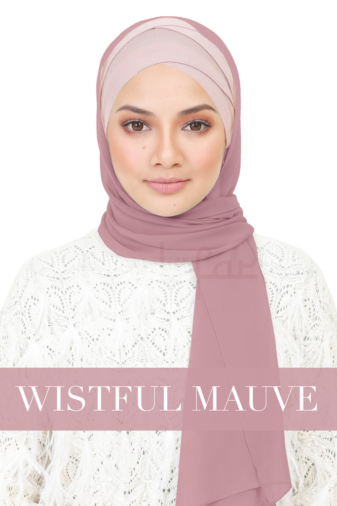 BE LOFA SHAWL - WISTFUL MAUVE