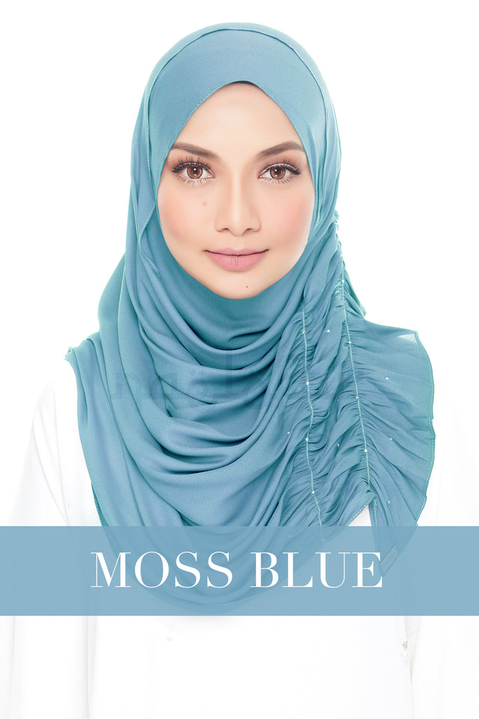 BELLA - MOSS BLUE