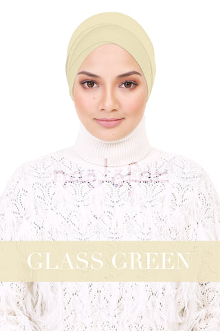 BE LOFA INNER - GLASS GREEN
