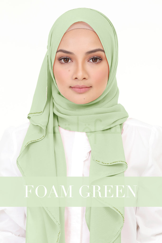 CHLOE - FOAM GREEN