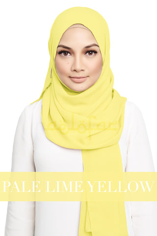 CRUSH - PALE LIME YELLOW