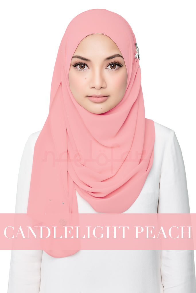 DARLING LOVE - CANDLELIGHT PEACH
