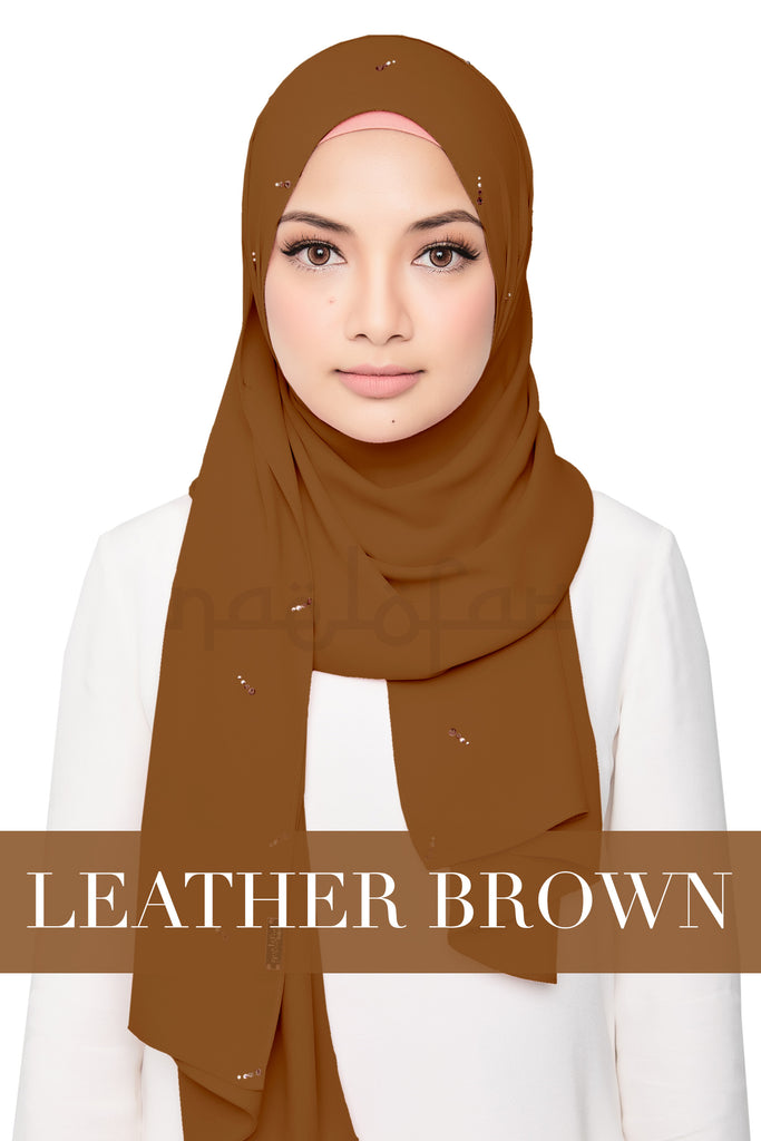 DEAR LOVE - LEATHER BROWN