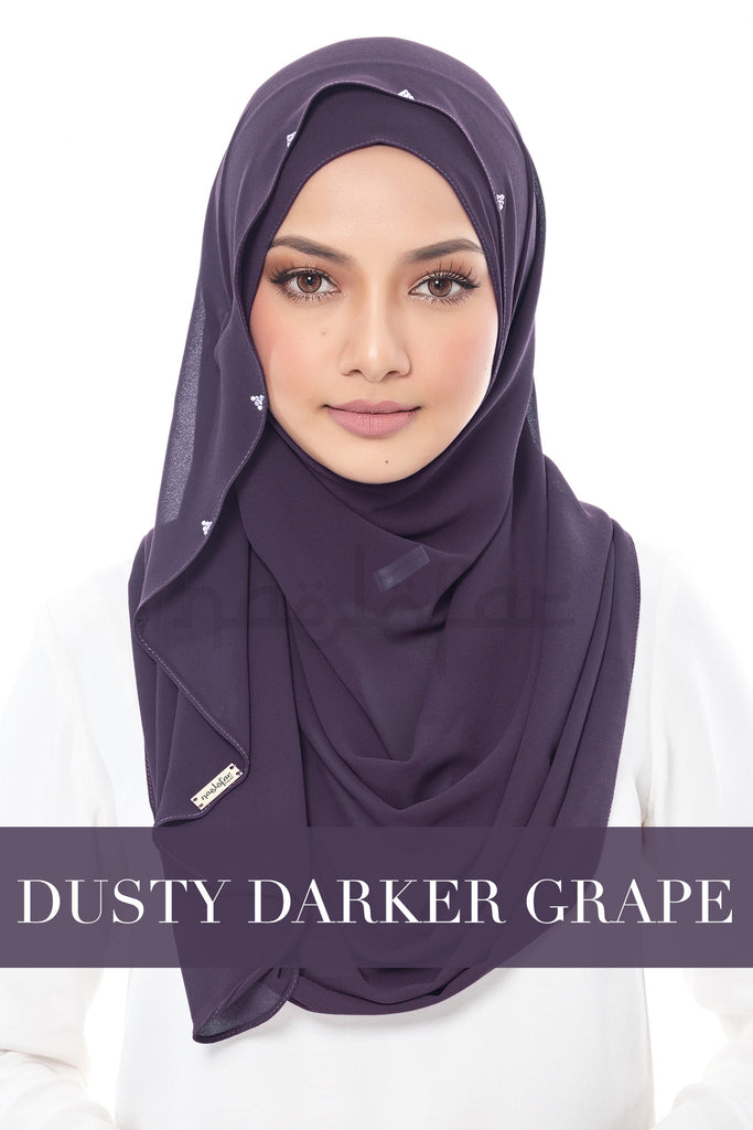 DUCHESS - DUSTY DARKER GRAPE