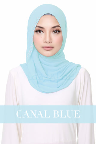 FLUFFY HELENA - CANAL BLUE