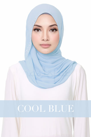 FLUFFY HELENA - COOL BLUE