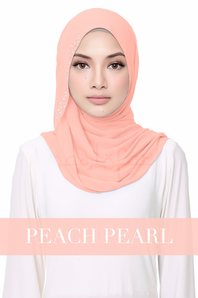 #VIBEACOLOR - FLUFFY HELENA - PEACH PEARL