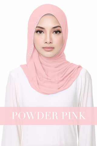 FLUFFY HELENA - POWDER PINK