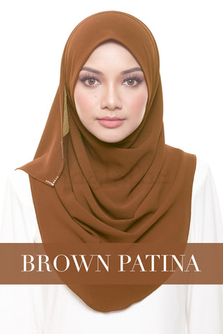 FOREVER YOUNG - BROWN PATINA
