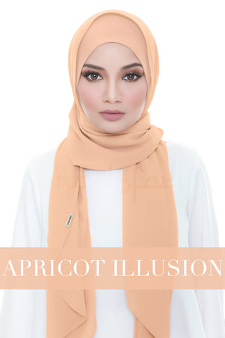 ISABELLE PLAIN - APRICOT ILLUSION