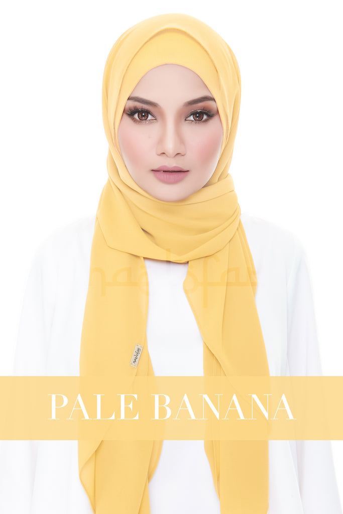 ISABELLE PLAIN - PALE BANANA