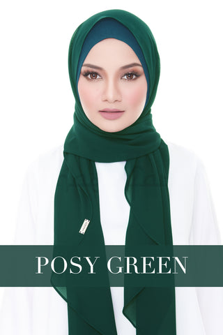 ISABELLE PLAIN - POSY GREEN