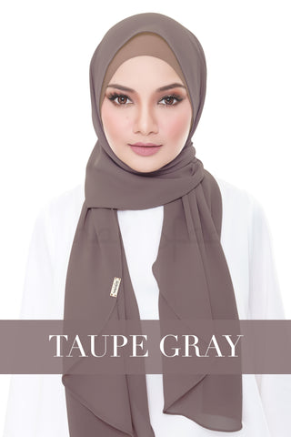 ISABELLE PLAIN - TAUPE GRAY