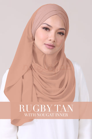 JEMIMA - RUGBY TAN WITH NOUGAT INNER