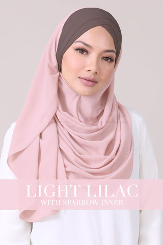 JEMIMA - LIGHT LILAC WITH SPARROW INNER