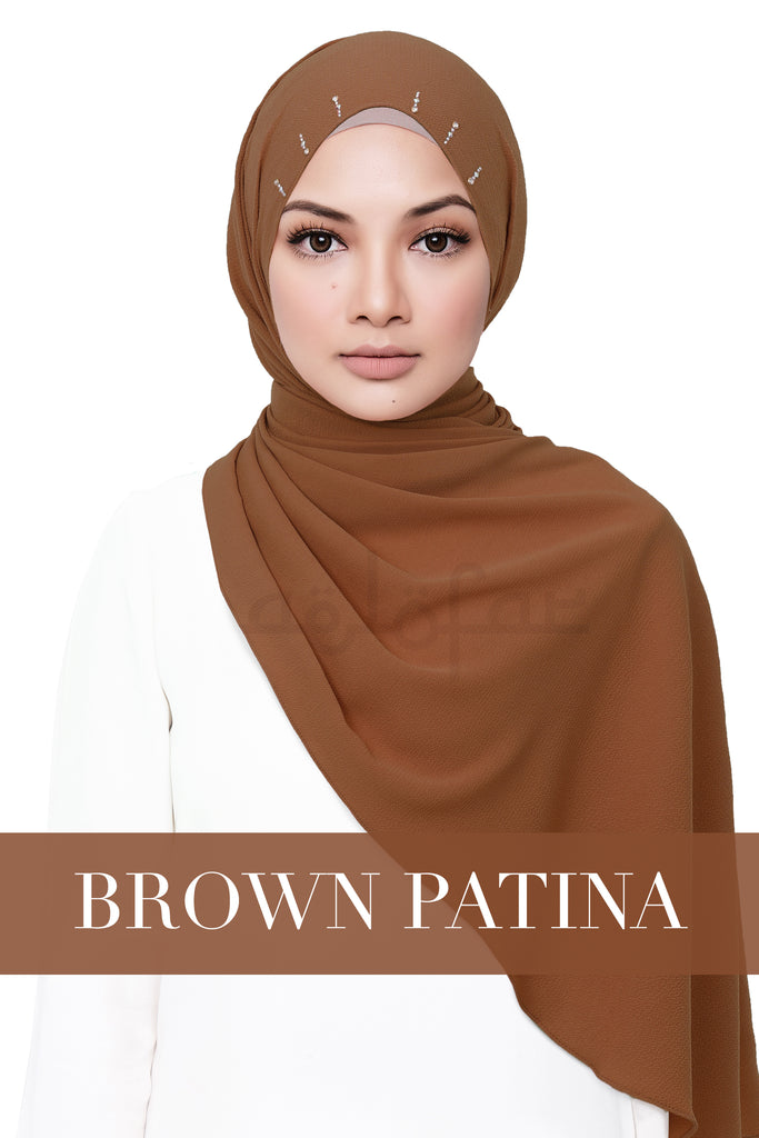 JUWITA - BROWN PATINA