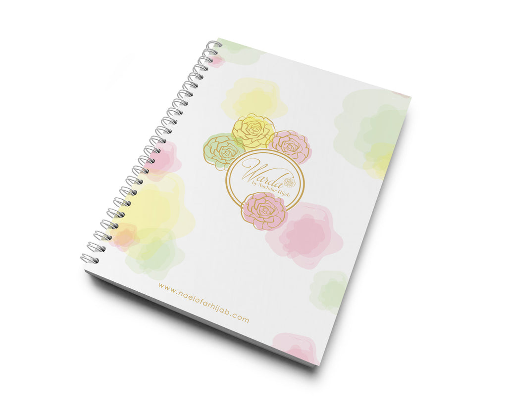 WARDA MERCHANDISE - NOTE BOOK