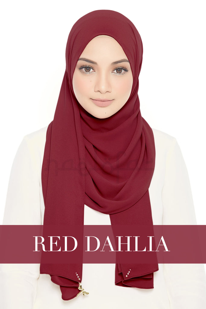 LADY LOFA - RED DAHLIA
