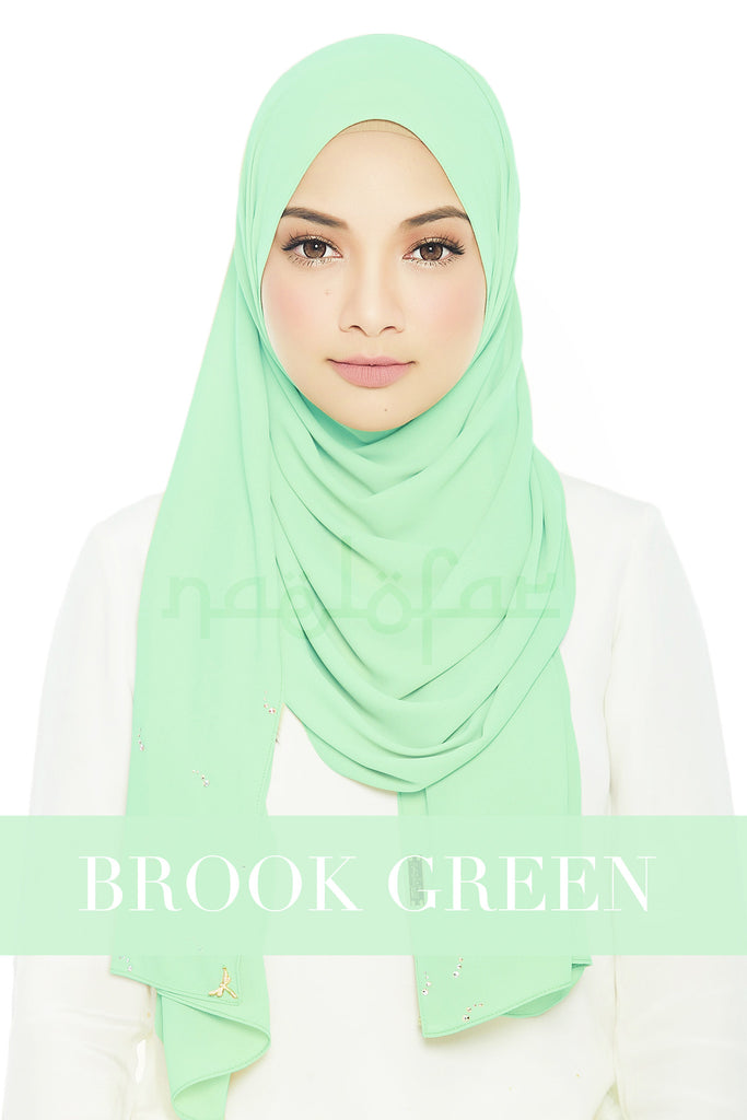 LADY LOFA LUXE - BROOK GREEN