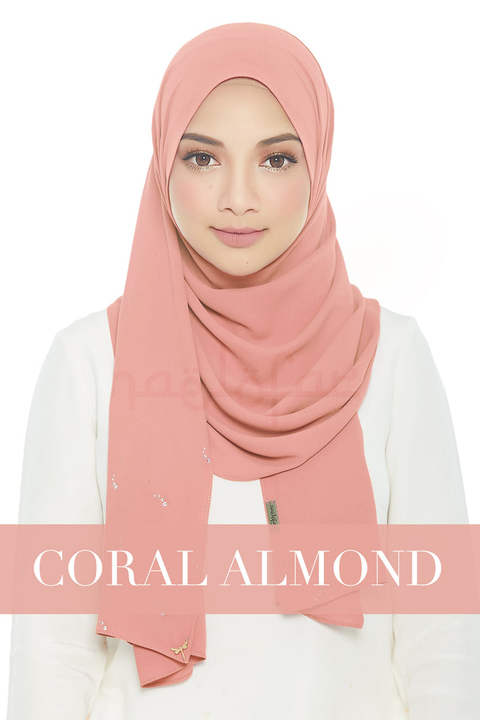 LADY LOFA LUXE - CORAL ALMOND