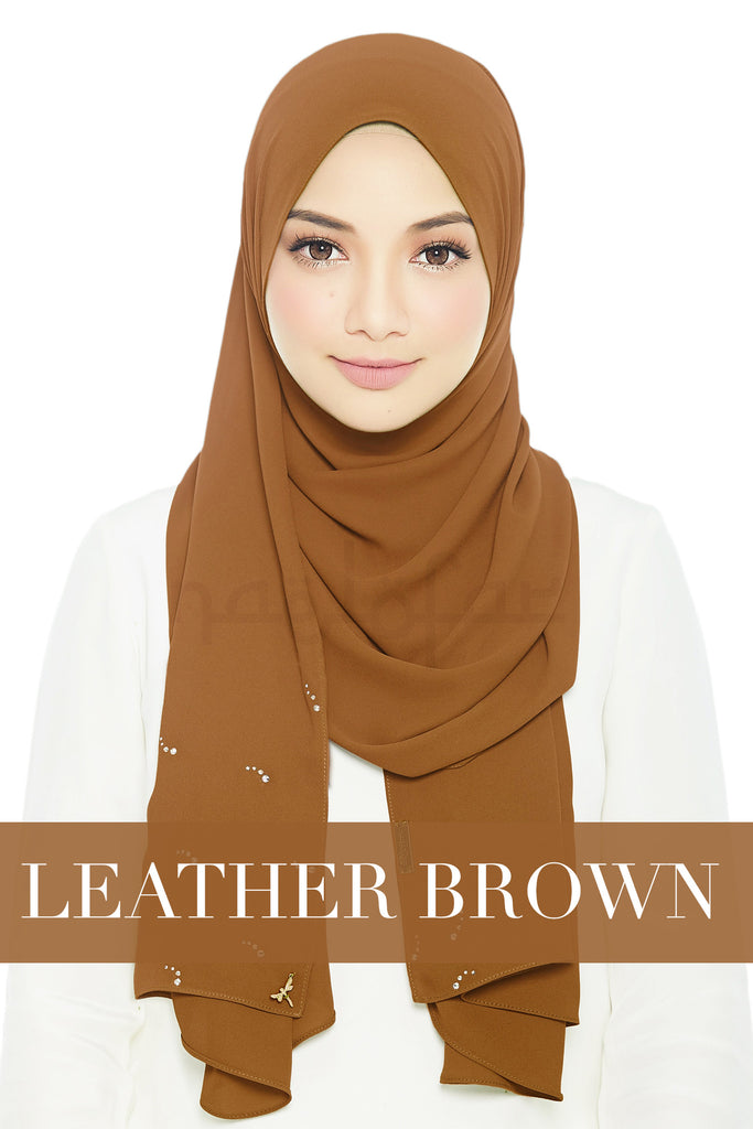 LADY LOFA LUXE - LEATHER BROWN