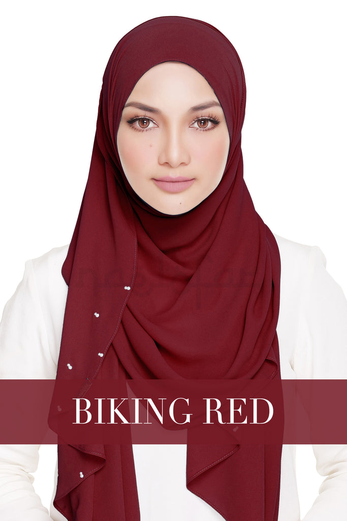 LADY WARDA - BIKING RED