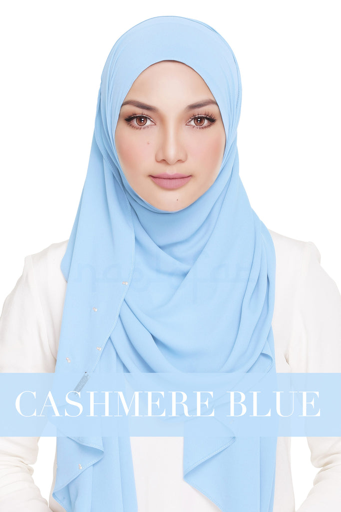 LADY WARDA - CASHMERE BLUE