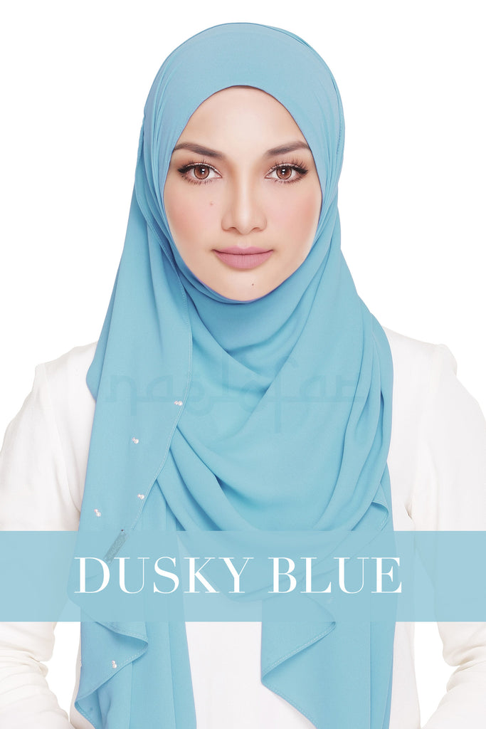 LADY WARDA - DUSKY BLUE