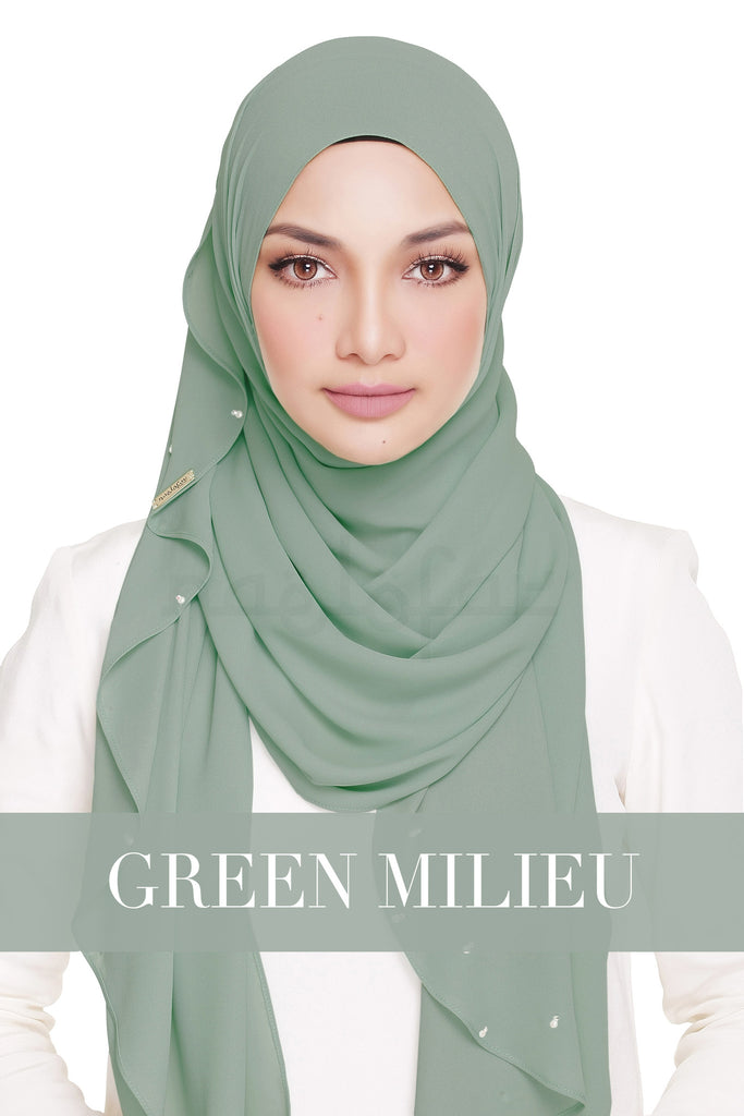 LADY WARDA - GREEN MILIEW