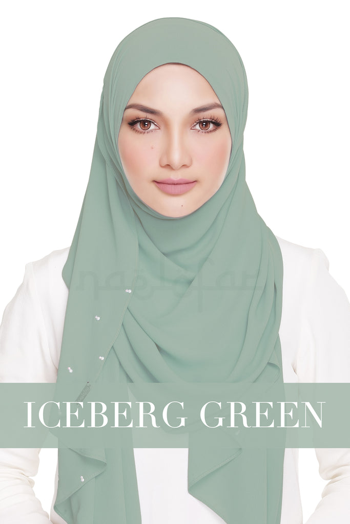 LADY WARDA - ICEBERG GREEN